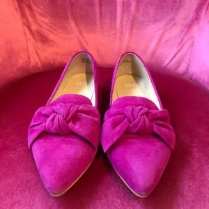 BP. (Nordstrom) Purple Bow Front Loafers
